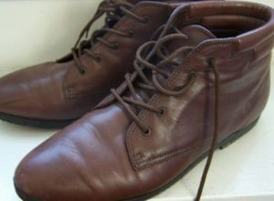 Vintage sudini leather ankle boots ladies sz 7